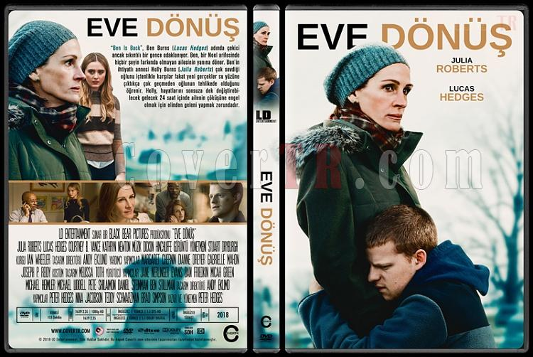 Ben is Back (Eve Dönüş) - Custom Dvd Cover - Türkçe [2018]-01jpg