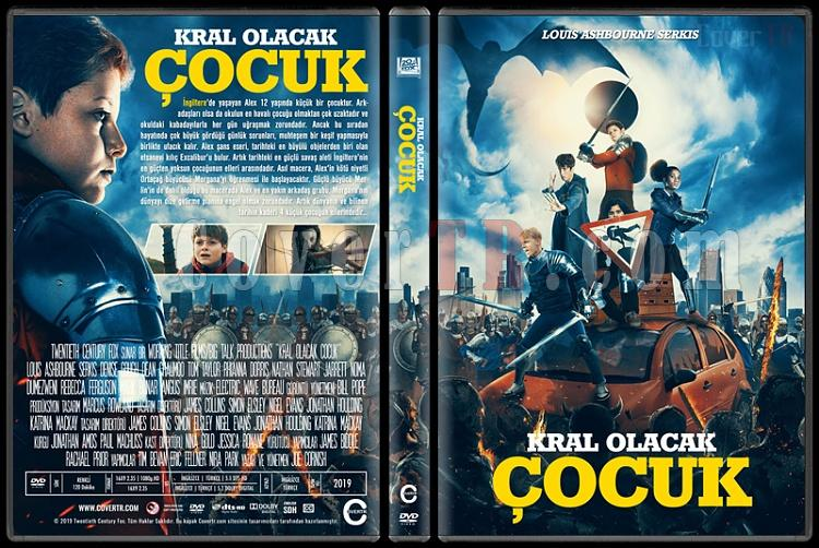 The Kid Who Would Be King (Kral Olacak Çocuk) - Custom Dvd Cover - Türkçe [2019]-2jpg