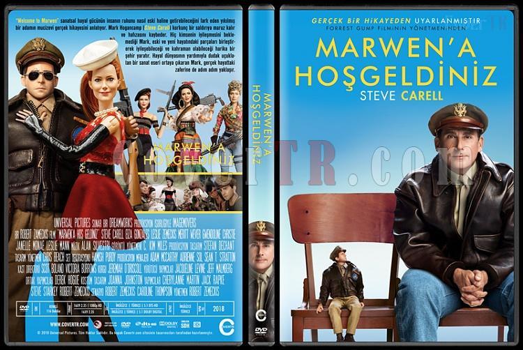 Welcome to Marwen (Marwen'a Hoş Geldiniz) - Custom Dvd Cover - Türkçe [2018]-01jpg