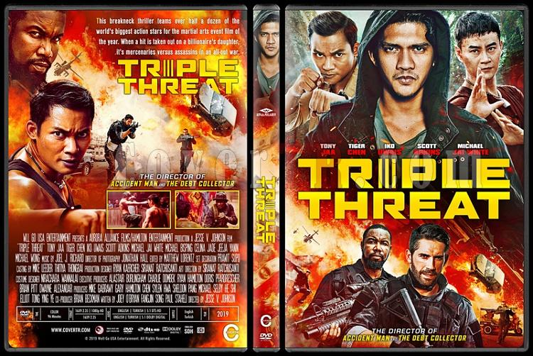 Triple Threat - Custom Dvd Cover - English [2019]-01jpg