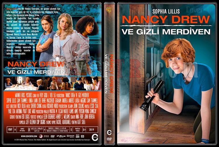Nancy Drew and the Hidden Staircase (Nancy Drew ve Gizli Merdiven) - Custom Dvd Cover - Türkçe [2019]-1jpg