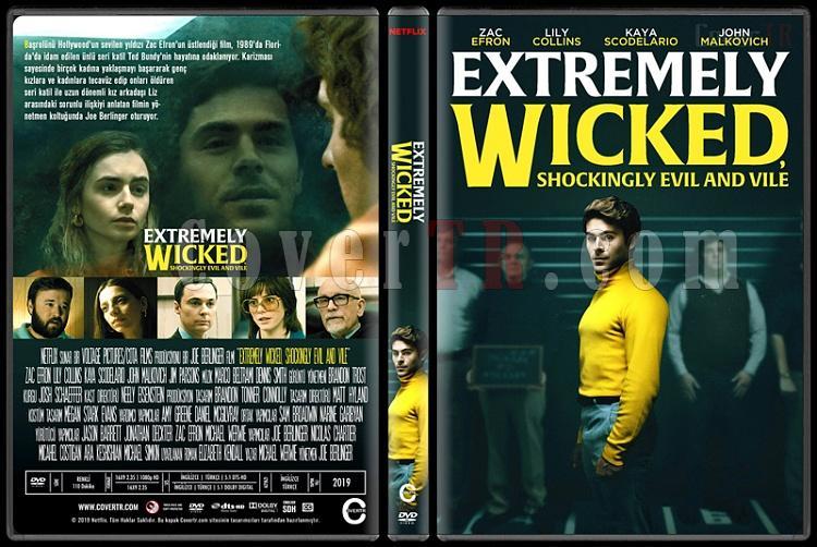 Extremely Wicked, Shockingly Evil and Vile - Custom Dvd Cover - Türkçe [2019]-2jpg
