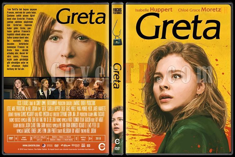 Greta - Custom Dvd Cover - Türkçe [2018]-01jpg