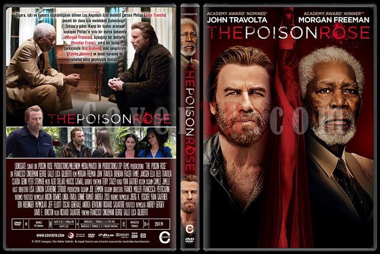The Poison Rose - Custom Dvd Cover - Türkçe [2019]-03jpg