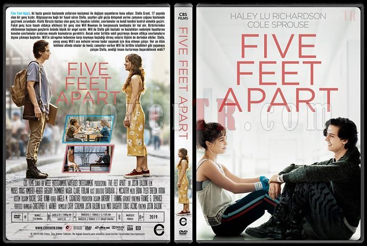 Five Feet Apart - Custom Dvd Cover - Türkçe [2019]-05jpg