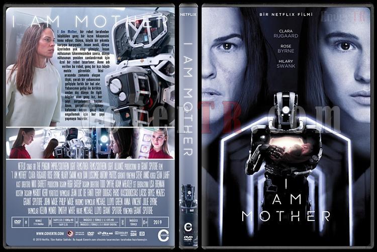 I Am Mother - Custom Dvd Cover - Türkçe [2019]-02jpg