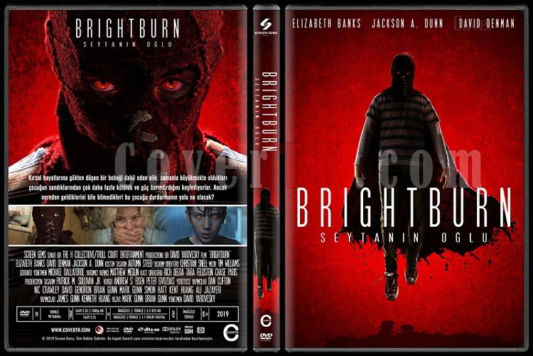 Brightburn (Brightburn: Şeytanın Oğlu) - Custom Dvd Cover - Türkçe [2019]-02jpg