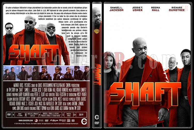 Shaft - Custom Dvd Cover - Türkçe [2019]-02jpg