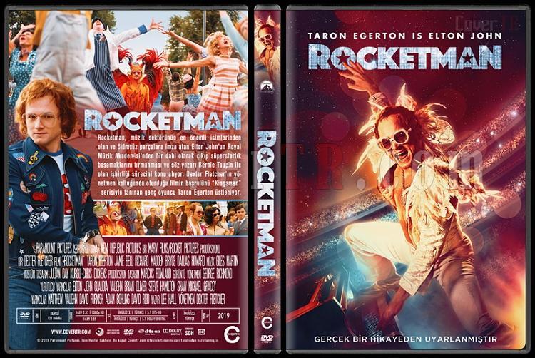 Rocketman - Custom Dvd Cover - Türkçe [2019]-001jpg