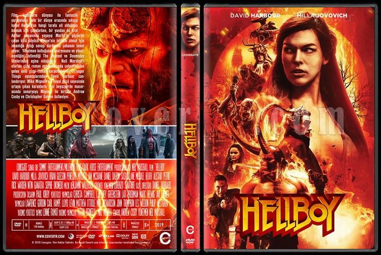 Hellboy - Custom Dvd Cover - Türkçe [2019]-01jpg