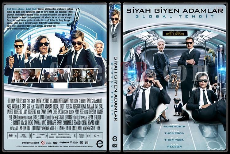 Men in Black: International (Siyah Giyen Adamlar: Global Tehdit) - Custom Dvd Cover - Türkçe [2019]-01jpg