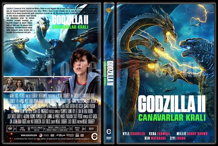 Godzilla: King of the Monsters (Godzilla II: Canavarlar Kralı) - Custom Dvd Cover - Türkçe [2019]-01jpg