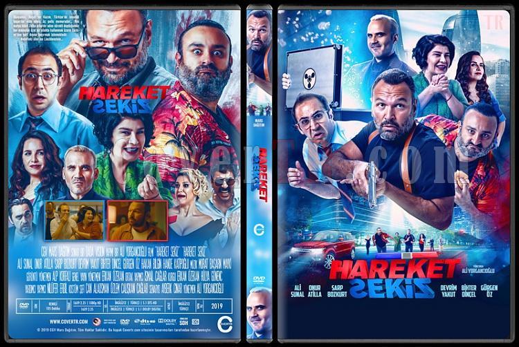 Hareket Sekiz - Custom Dvd Cover - Türkçe [2019]-1jpg