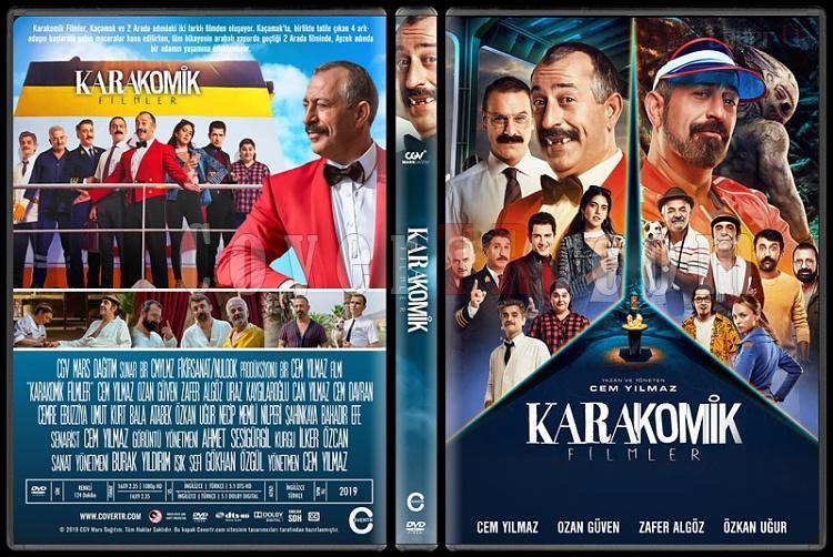 Karakomik Filmler - Custom Dvd Cover - Türkçe [2019]-1jpg