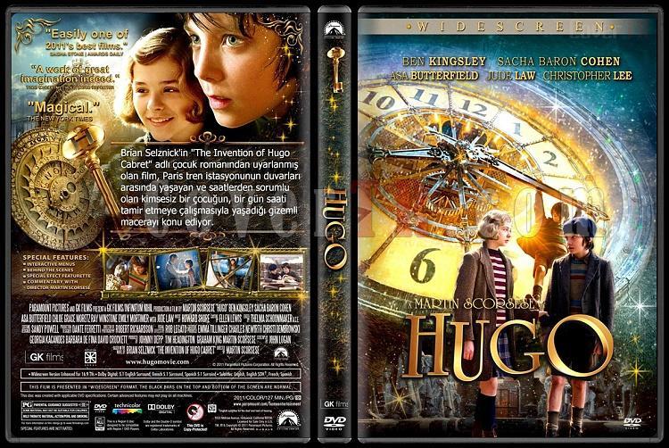 Hugo - Custom Dvd Cover - Türkçe [2011]-hugojpg