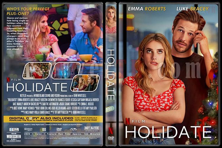 Holidate - Custom Dvd Cover - Türkçe [2020]-1jpg