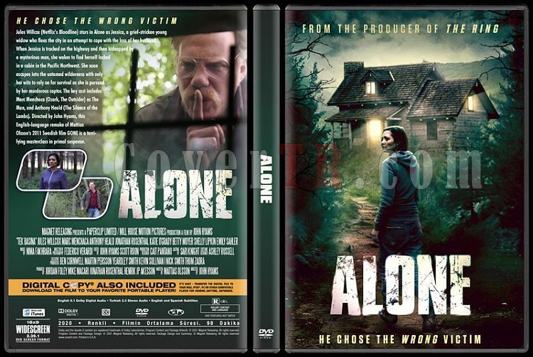 Alone (Tek Başına) - Custom Dvd Cover - Türkçe [2020]-1jpg