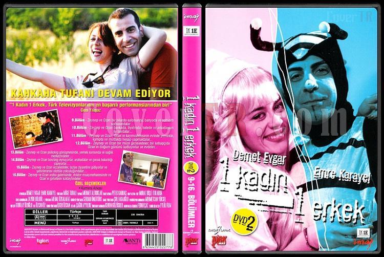 1 Kadın 1 Erkek (Dvd 2 / 9-16. Bölümler) - Scan DVD Cover - Türkçe [2008-?]-1_kadin_1_erkek_1-2jpg