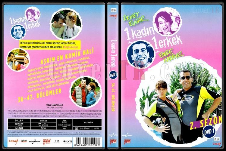 1 Kadın 1 Erkek (Dvd 1 / 36-47. Bölümler) - Scan DVD Cover - Türkçe [2008-?]-1_kadin_1_erkek_2-1jpg