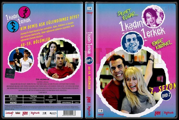 1 Kadın 1 Erkek (Dvd 2 / 48-59. Bölümler) - Scan DVD Cover - Türkçe [2008-?]-1_kadin_1_erkek_2-2jpg