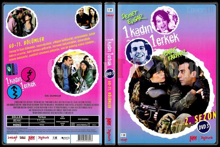 1 Kadın 1 Erkek (Dvd 3 / 60-71. Bölümler) - Scan DVD Cover - Türkçe [2008-?]-1_kadin_1_erkek_2-3jpg