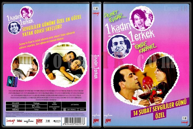 1 Kadın 1 Erkek (Sezon 14 Şubat Özel) - Scan DVD Cover - Türkçe [2008-?]-1_kadin_1_erkek_14_subat_ozeljpg