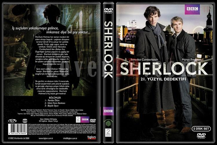 Sherlock (Season 1) - Scan Dvd Cover - Türkçe [2010-?]-sherlock_season_01jpg