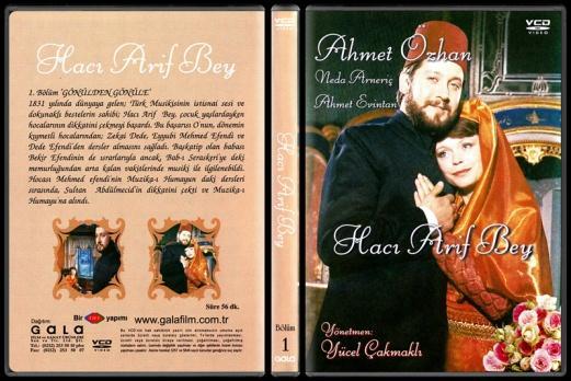 Hacı Arif Bey Bölüm 1 - Scan Dvd Cover - Türkçe-arif3djpg