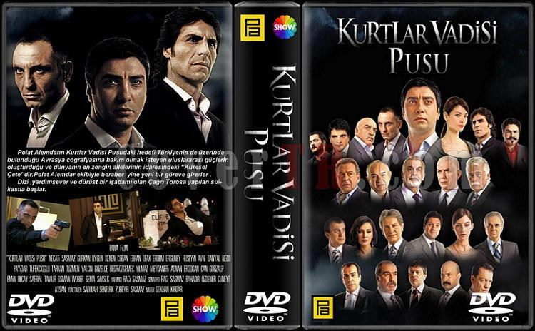 Kurtlar Vadisi Pusu - Custom Dvd Cover Box Set - Türkçe-kvpjpg