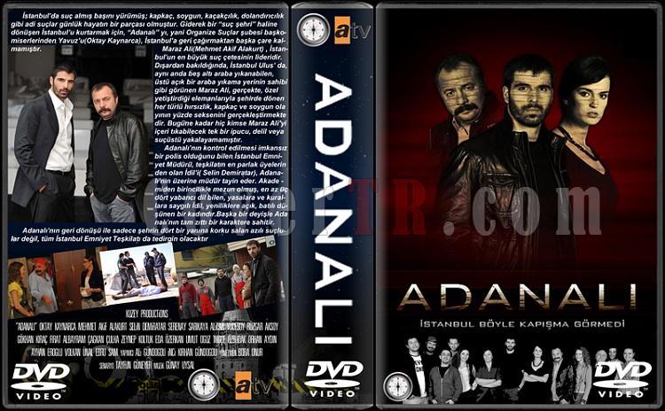 Adanalı - Custom Dvd Cover Box Set - Türkçe-adanalijpg