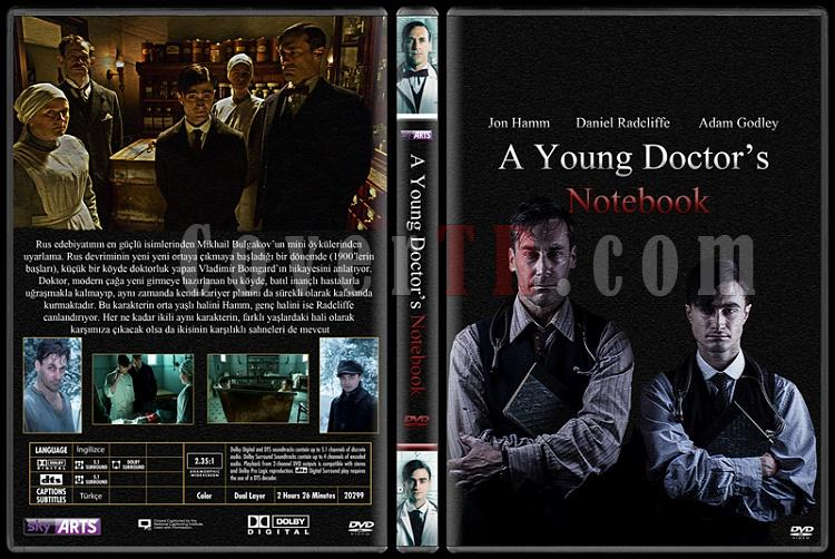 A Young Doctor's Notebook - Custom Dvd Cover - Türkçe [2012]-aynjpg