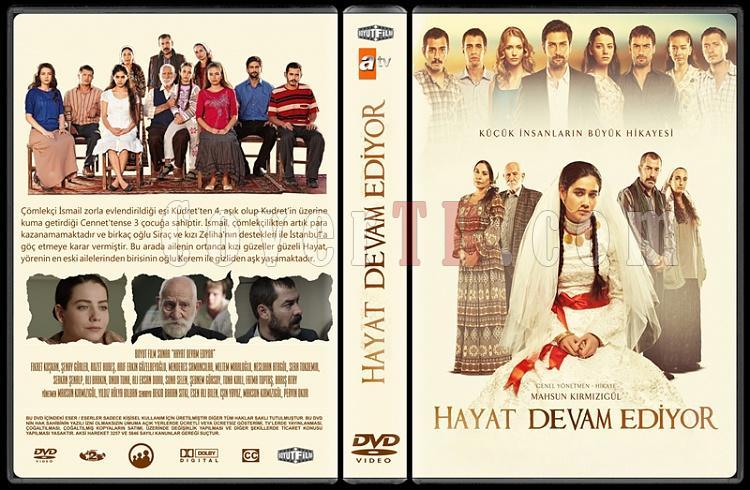 Hayat Devam Ediyor - Custom Dvd Cover Box Set - Türkçe [2012-?]-alternatif-1-onizlemejpg