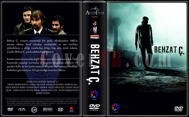 Behzat Ç. - Custom Dvd Cover Box Set - Türkçe [2010-2012]-behzatjpg