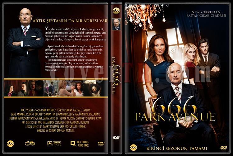 666 Park Avenue - Custom Dvd Cover - Türkçe [2012-?]-v1jpg