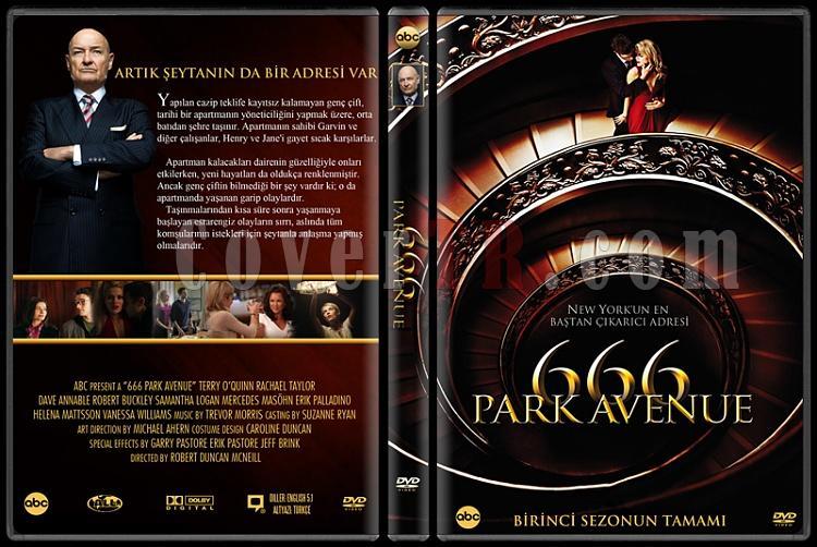 666 Park Avenue - Custom Dvd Cover - Türkçe [2012-?]-v2jpg