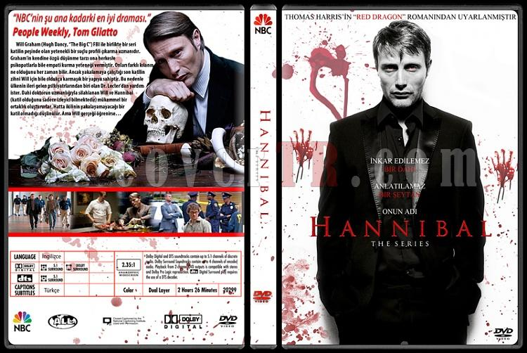 Hannibal (Season 1) - Custom Dvd Cover - Türkçe [2013-?]-hannjpg