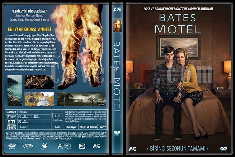 Bates Motel (Season 1) - Custom Dvd Cover - Türkçe [2013-?]-bmjpg