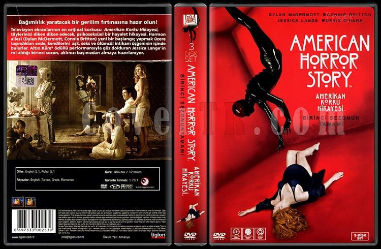 American Horror Story (Seson 1) - Scan Dvd Cover Bo Set - Türkçe [2011 -?]-american-horror-story-seson-1-scan-dvd-cover-bo-set-turkce-2011-jpg