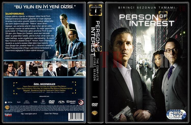 Person of Interest (Season 1) - Scan Dvd Cover Box Set - Türkçe [2011 -?]-person-interest-season-1-scan-dvd-cover-bo-set-turkce-2011-jpg