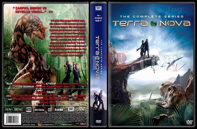 Terra Nova (Season 1) - Custom Dvd Cover Box Set - Türkçe [2011]-terra-nova-season-1jpg