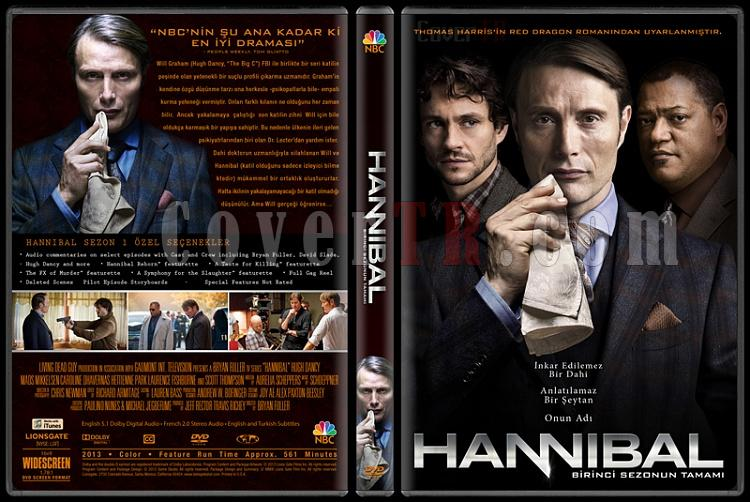 Hannibal (Season 1) - Custom Dvd Cover - Türkçe [2013]-izlemejpg