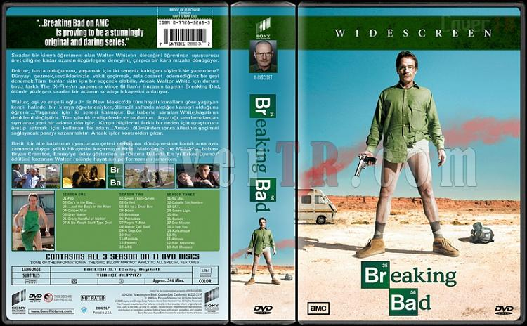 Breaking Bad (Seasons 1-3) - Custom Dvd Cover Box Set - Türkçe [2008-2013]-breaking-badjpg