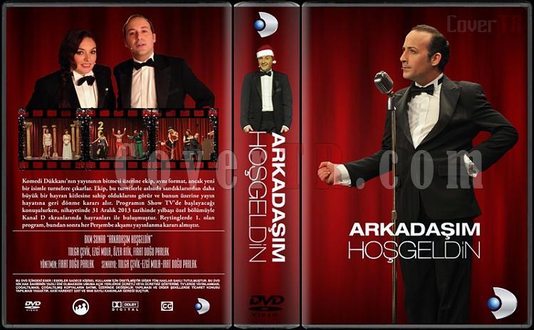 Arkadaşım Hoşgeldin - Custom Dvd Cover - Türkçe [2014-?]-arkadasim-hosgeldinjpg
