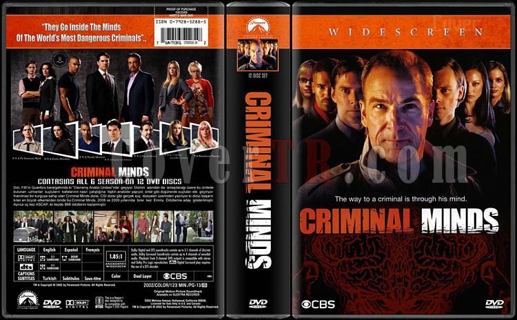 Criminal Minds (Seasons 1-6) - Custom Dvd Cover Box Set - Türkçe Açıklamalı [2005-?]-criminal-mindsjpg