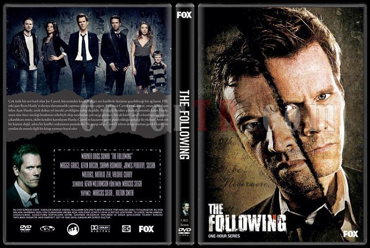 The Following - Custom Dvd Cover Box Set - Türkçe [2012- ?]-standardjpg