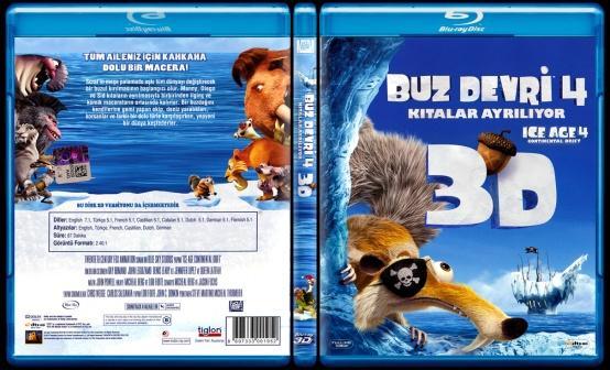 Ice Age 4 Continental Drift (Buz Devri 4 Kıtalar Ayrılıyor) - Scan Bluray Cover - Türkçe [2012]-ice-age-4-continental-drift-buz-devri-4-kitalar-ayriliyor-scan-bluray-cover-turkce-2012jpg