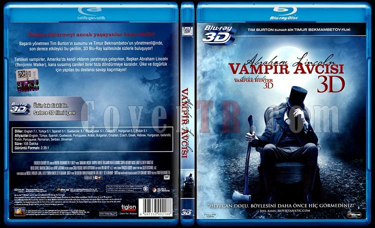 Abraham Lincoln: Vampire Hunter (Abraham Lincoln: Vampir Avcısı) - Scan Bluray Cover - Türkçe [2012]-abraham-lincoln-vampire-hunter-abraham-lincoln-vampir-avcisi-scan-bluray-cover-turkce-201jpg