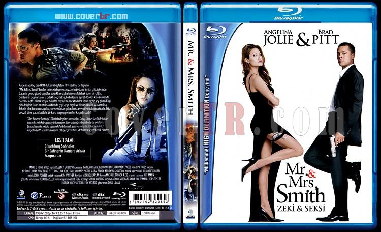 Mr And Mrs Smith (Bay ve Bayan Smith) - Scan Bluray Cover - Türkçe [2006]-mr-mrs-smith-bay-ve-bayan-smith-scan-bluray-cover-turkce-2006jpg