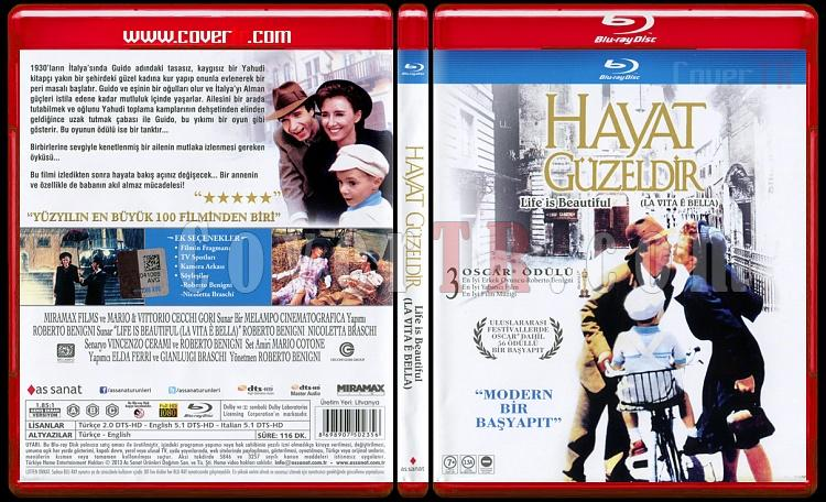 Life Is Beautiful (Hayat Güzeldir) - Scan Bluray Cover - Türkçe [1997]-life-beautiful-hayat-guzeldir-scan-bluray-cover-turkce-1997jpg