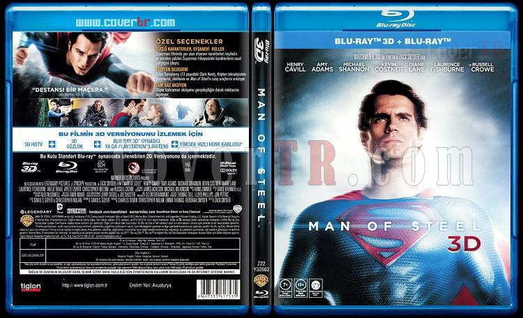 Man of Steel (Çelik Adam) - Scan Bluray Cover - Türkçe [2013]-man-steel-celik-adam-scan-bluray-cover-turkce-2013jpg